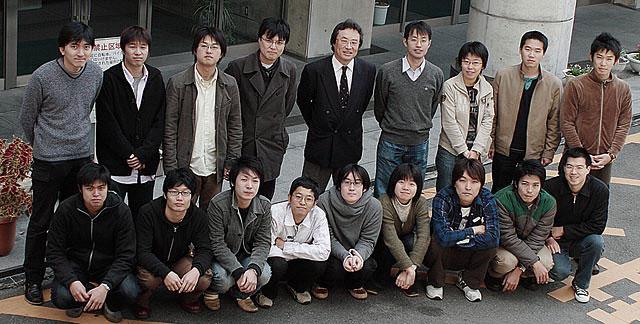 Members of Sawaragilab [Apr. 2006 - Mar. 2007]