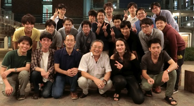 Group photo at Spe. 23, 2016 (BBQ)